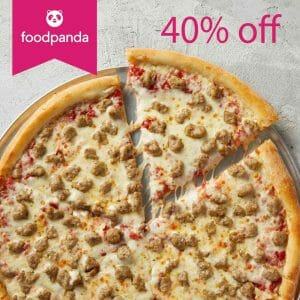 Sbarro - Foodpanda Mega Monday Deal Extended: Get 40% Off