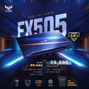 Silicon Valley - Get ASUS TUF Gaming FX505 for ₱39,995