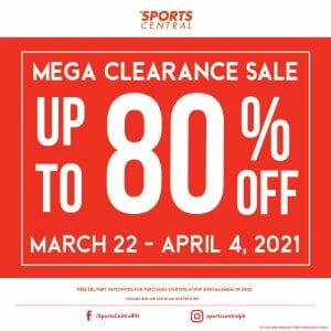 Sports Central - Mega Clearance Sale: Get Up to 80% Off