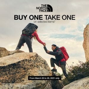 The North Face - Buy 1 Take 1 Promo