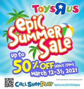 """Toys""""R""""Us - Epic Summer Sale: Get Up to 50% Off Select Items"""