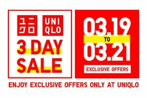 Uniqlo - 3-Day Sale: Exclusive Offers