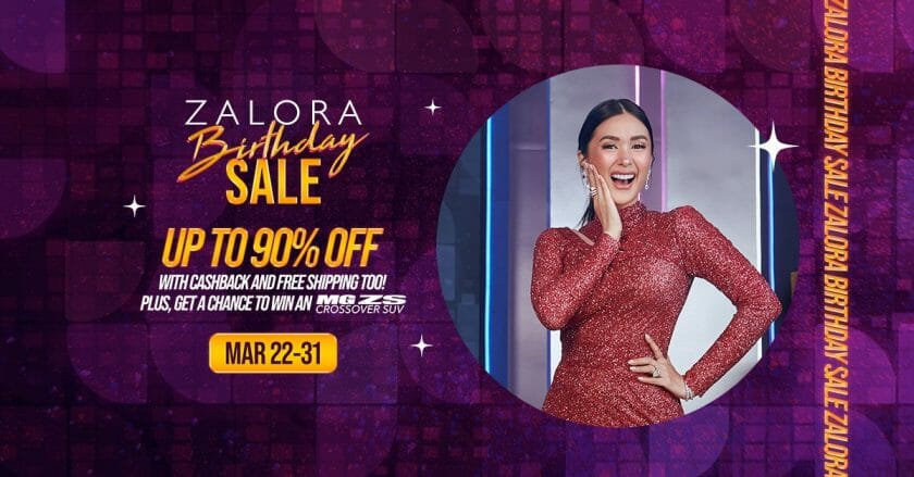 Zalora - Birthday Sale: Get Up to 90% Off With Cashback and FREE Shipping