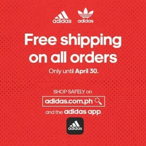 Adidas - Get FREE Shipping on All Orders Online or via the App