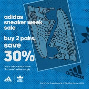 Adidas - Sneaker Week Sale: Buy 2 Pairs and Save 30%