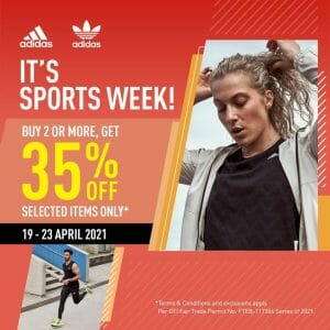Adidas - Sports Week: Buy 2 or More and Get 35% Off Selected Items