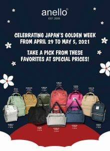 Anello - Japan Golden Week Sale