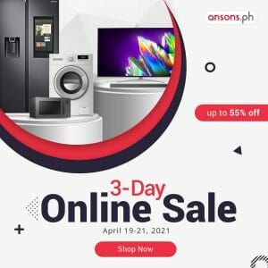 Anson's - 3-Day Online Sale: Get Up to 55% Off