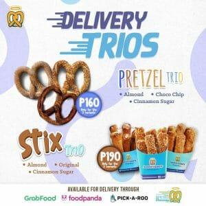 Auntie Anne's - Delivery Trios Promo