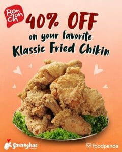 Bonchon Chicken - Get 40% Off on Klassic Fried Chikin via Foodpanda