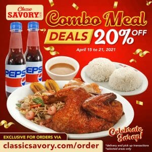 Classic Savory - Combo Meal Deals: Get 20% Off