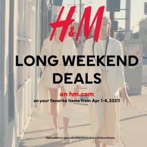 H&M - Long Weekend Deals