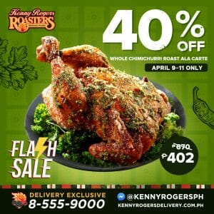 Kenny Rogers Roasters - Get 40% Off Whole Chimichurri Roast Ala Carte