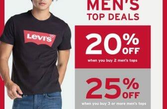 Levi's - Men's Top Deals: Get Up to 25% Off
