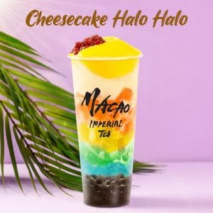 Macao Imperial Tea Introduces Their Cheesecake Halo Halo