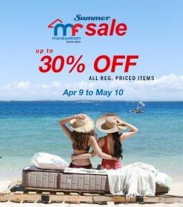 Mandaue Foam - Summer Sale: Get Up to 30% Off on Regular Priced Items
