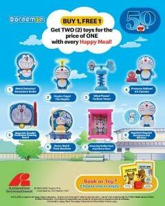 McDonald's - Happy Meal Buy 1 Free 1 Promo