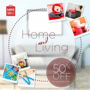 Miniso - Home and Living Sale: Get Up to 50% Off on Selected Items