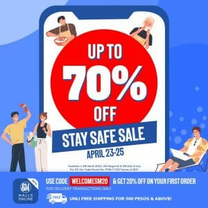 Miniso - Stay Safe Sale: Get Up to 70% Off via SM Malls Online