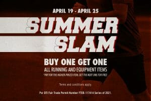 Nike Factory Store PH (NFS) - Summer Slam: Buy 1 Get 1 on All Running and Equipment Items