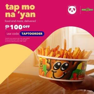 Potato Corner - Get ₱100 Off on Orders via Foodpanda