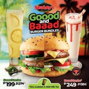 Shakey's - Goood and Baaad Burger Bundles: As Low As ₱199
