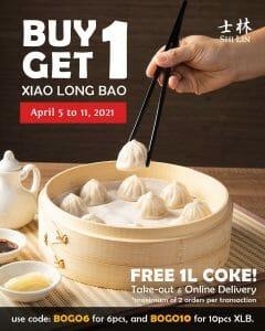 Shi Lin - Buy 1 Get 1 Xiao Long Bao Promo
