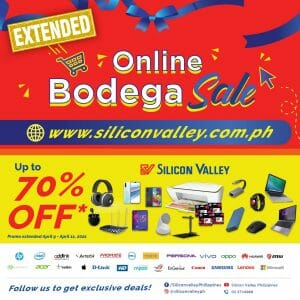 Silicon Valley - Online Bodega Sale Extended: Get Up to 70% Off