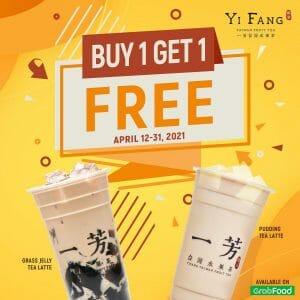 Yi Fang - Buy 1 Get 1 FREE Promo
