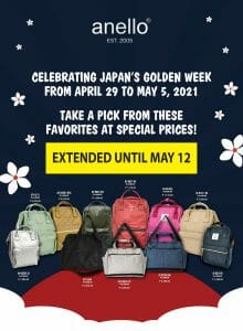 Anello - Japan Golden Week Sale Extended