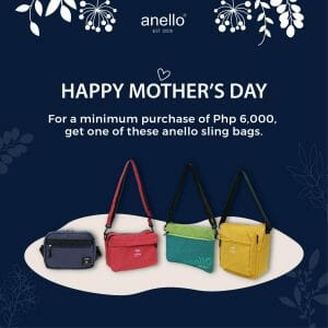 Anello - Mother's Day Promo: FREE Sling Bag