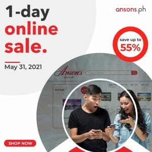 Anson's - 1-Day Online Sale: Get Up to 55% Off