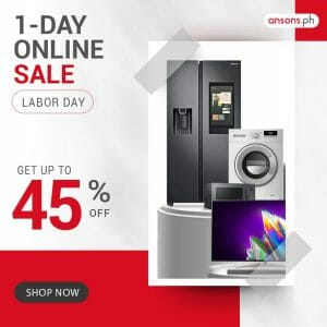 Anson's - 1-Day Labor Day Online Sale: Get Up to 45% Off