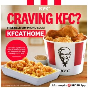 KFC - Get FREE Delivery Promo
