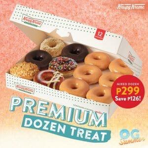 Krispy Kreme - May Premium Dozen Treat for P299 (Save P126)