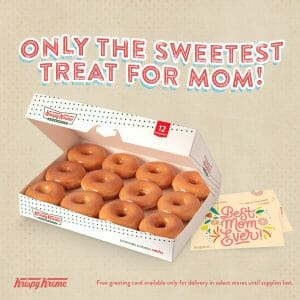 Krispy Kreme - Mother's Day: Get a FREE Greeting Card for Every Order