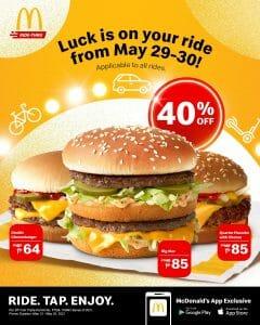 McDonalds Ride Thru 40off May21