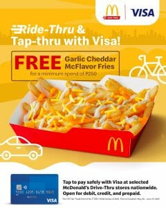 McDonald's - Get FREE Garlic Cheddar McFlavor Fries Promo