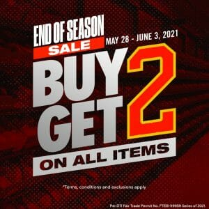 Nike Factory Store - End of Season Sale: Buy 2 Get 2 on All Items