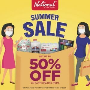 National Book Store - Summer Sale: Get Up to 50% Off Participating Items