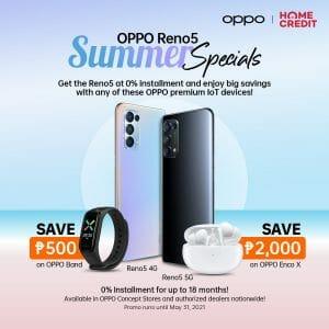 OPPO - Reno 5 Summer Specials Promo
