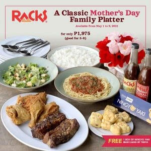 Racks - Classic Mother's Day Family Platter for ₱1975