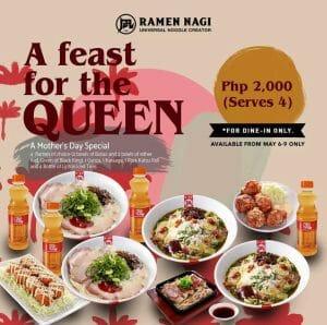 Ramen Nagi - A Feast for the Queen Bundle for ₱2000