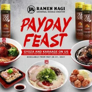 Ramen Nagi - Payday Feast Promo