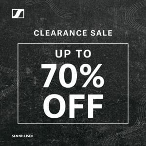 Sennheiser - Clearance Sale: Get Up to 70% Off on Selected Products