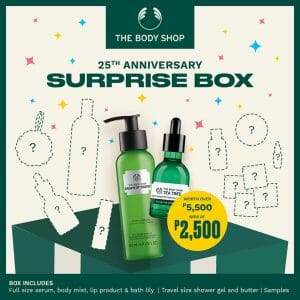 The Body Shop - 25th Anniversary Surprise Box for ₱2500