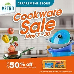 The Metro Stores - Cookware Sale: Get Up to 50% Off