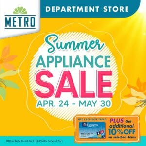 The Metro Stores - Department Store Summer Appliance Sale