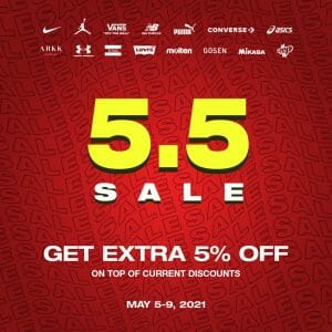 The Playground Premium Outlet - 5.5 Deal: Get Extra 5% Off on Discounted Items