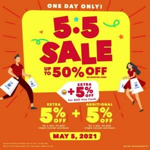 The SM Store - 5.5 Deal: Get Up to 50% Off